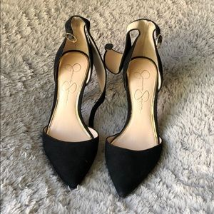 JESSICA SIMPSON Black Heels Pumps